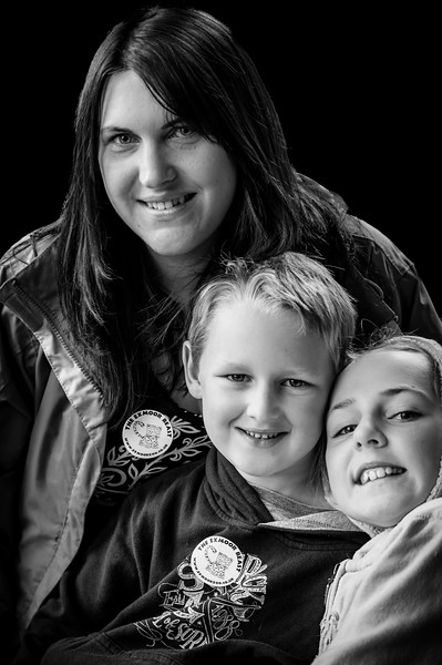 Nat, Faith & Max Portrait