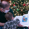 Author J. Anthony Garreffi of Lancaster reads one of his books to some kids at this years Festival of Lights at Leominster City Hall last week. SENTINEL & ENTERPRISE/JOHN LOVE