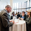 Robert Putnam, author of 'Our Kids: The American Dream in Crisis', signs copies of his book for students and faculty at Fitchburg State University during the keynote lecture as part of the Community Reads program on Tuesday, April 4, 2017. SENTINEL & ENTERPRISE / Ashley Green