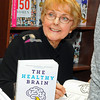 "Dr. Aileen Burford-Mason, PhD, at the launch of ""The Healthy Brain"" at Ben McNallly's bookstore in Toronto, in January 2018."