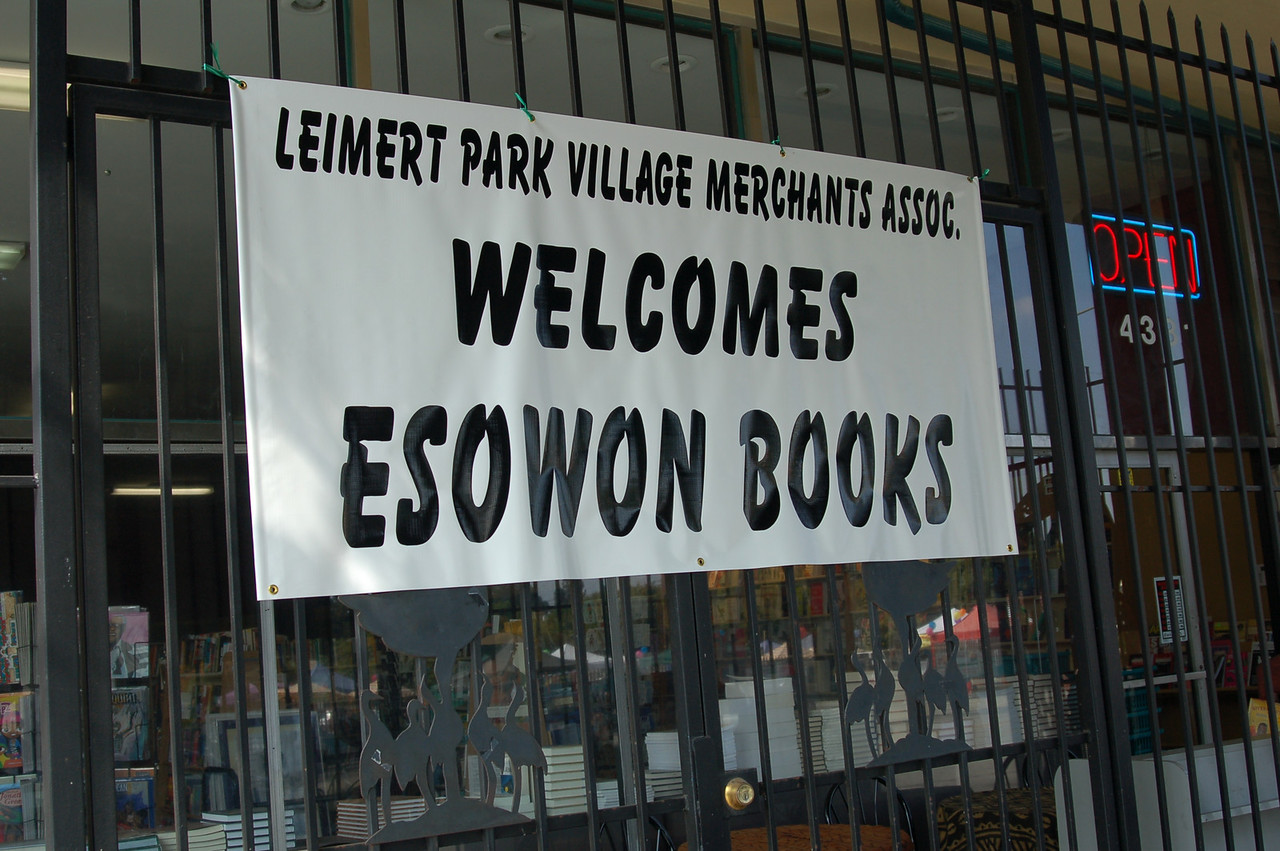 Eso Won Bookstore has officially moved to Leimert Park in Los Angeles.  These photos capture the sheer joy of the move.