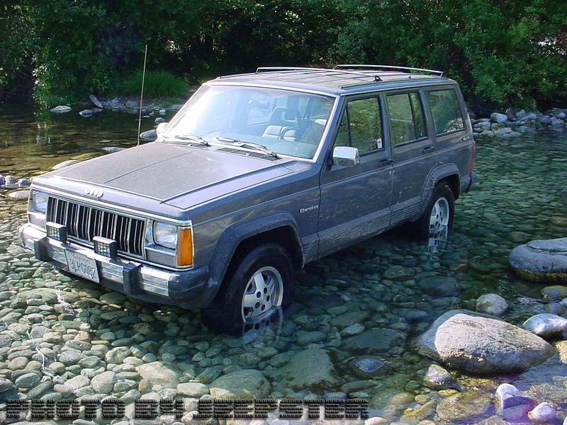 """(Jeep #2) Meet """"My Lady"""" (Said with a Brittish Accent. lol)... 1990 Jeep Cherokee fully stock"""