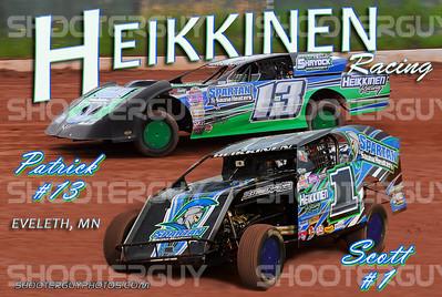 Heikkinen Father Son Card