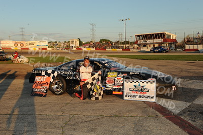 "ARCA Midwest Tour Presented by Scag Power Equipment - ""Kar Korner All Star 100"" at Rockford Speedway, - Loves Park, IL - 6/27/15"