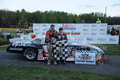 """20160514-803 - ARCA Midwest Tour """"Cabin Fever 100"""" at State Park Speedway - Wausau, WI"""