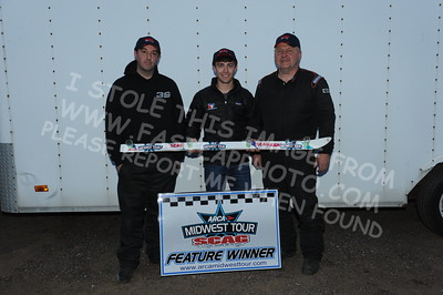 """20160514-816 - ARCA Midwest Tour """"Cabin Fever 100"""" at State Park Speedway - Wausau, WI"""