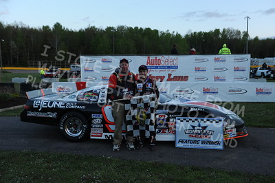 """20160514-802 - ARCA Midwest Tour """"Cabin Fever 100"""" at State Park Speedway - Wausau, WI"""