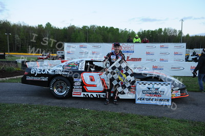 """20160514-810 - ARCA Midwest Tour """"Cabin Fever 100"""" at State Park Speedway - Wausau, WI"""