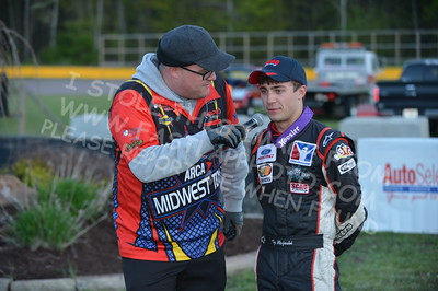 """20160514-676 - ARCA Midwest Tour """"Cabin Fever 100"""" at State Park Speedway - Wausau, WI"""