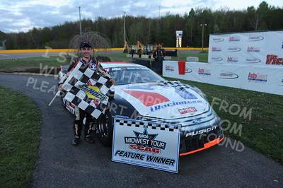 """20160514-813 - ARCA Midwest Tour """"Cabin Fever 100"""" at State Park Speedway - Wausau, WI"""