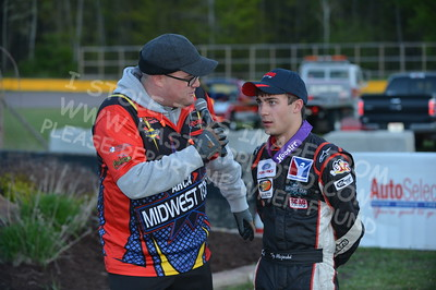 """20160514-675 - ARCA Midwest Tour """"Cabin Fever 100"""" at State Park Speedway - Wausau, WI"""