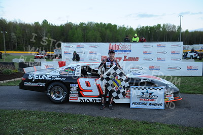"""20160514-811 - ARCA Midwest Tour """"Cabin Fever 100"""" at State Park Speedway - Wausau, WI"""