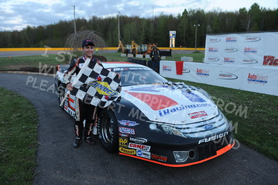 """20160514-812 - ARCA Midwest Tour """"Cabin Fever 100"""" at State Park Speedway - Wausau, WI"""