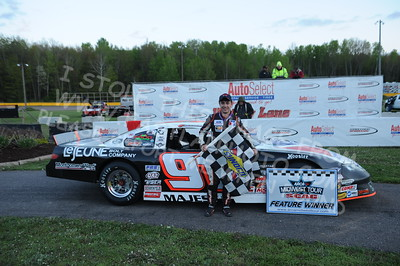 """20160514-808 - ARCA Midwest Tour """"Cabin Fever 100"""" at State Park Speedway - Wausau, WI"""