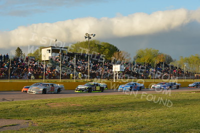"""20160514-570 - ARCA Midwest Tour """"Cabin Fever 100"""" at State Park Speedway - Wausau, WI"""