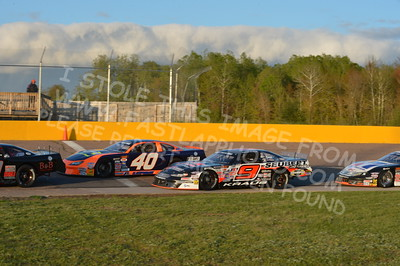 """20160514-592 - ARCA Midwest Tour """"Cabin Fever 100"""" at State Park Speedway - Wausau, WI"""