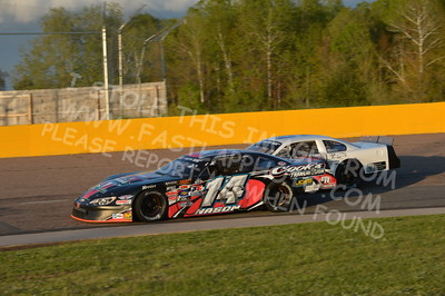 """20160514-584 - ARCA Midwest Tour """"Cabin Fever 100"""" at State Park Speedway - Wausau, WI"""