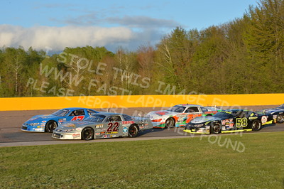 """20160514-581 - ARCA Midwest Tour """"Cabin Fever 100"""" at State Park Speedway - Wausau, WI"""