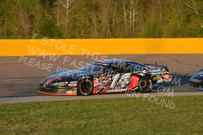 """20160514-596 - ARCA Midwest Tour """"Cabin Fever 100"""" at State Park Speedway - Wausau, WI"""