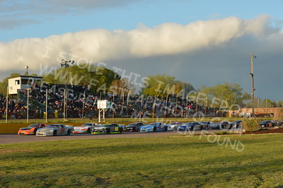 """20160514-571 - ARCA Midwest Tour """"Cabin Fever 100"""" at State Park Speedway - Wausau, WI"""