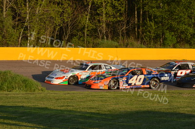 """20160514-583 - ARCA Midwest Tour """"Cabin Fever 100"""" at State Park Speedway - Wausau, WI"""