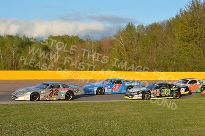 """20160514-582 - ARCA Midwest Tour """"Cabin Fever 100"""" at State Park Speedway - Wausau, WI"""