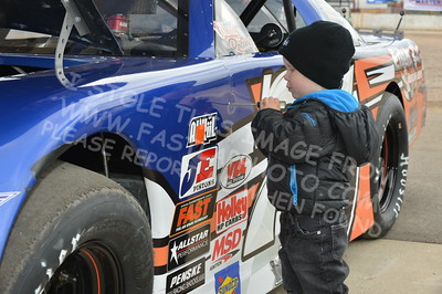 "20160514-026 - ARCA Midwest Tour ""Cabin Fever 100"" at State Park Speedway - Wausau, WI"
