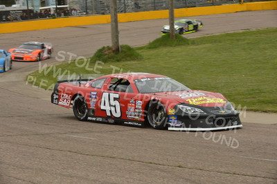 """20160514-060 - ARCA Midwest Tour """"Cabin Fever 100"""" at State Park Speedway - Wausau, WI"""