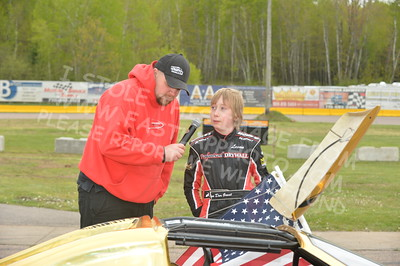 "20160514-483 - ARCA Midwest Tour ""Cabin Fever 100"" at State Park Speedway - Wausau, WI"