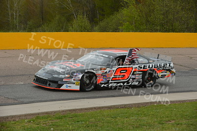 "20160514-501 - ARCA Midwest Tour ""Cabin Fever 100"" at State Park Speedway - Wausau, WI"