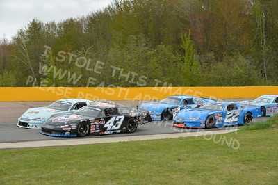 "20160514-510 - ARCA Midwest Tour ""Cabin Fever 100"" at State Park Speedway - Wausau, WI"