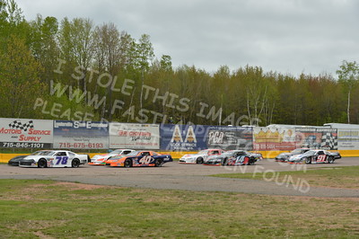 "20160514-535 - ARCA Midwest Tour ""Cabin Fever 100"" at State Park Speedway - Wausau, WI"