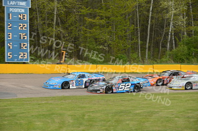 "20160514-517 - ARCA Midwest Tour ""Cabin Fever 100"" at State Park Speedway - Wausau, WI"