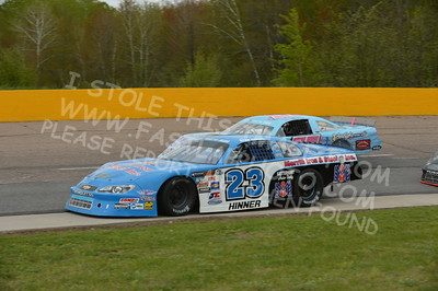 "20160514-512 - ARCA Midwest Tour ""Cabin Fever 100"" at State Park Speedway - Wausau, WI"