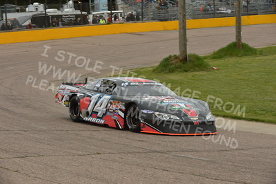 """20160514-419 - ARCA Midwest Tour """"Cabin Fever 100"""" at State Park Speedway - Wausau, WI"""