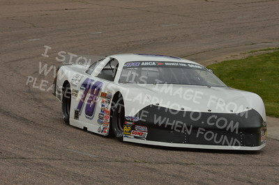 """20160514-399 - ARCA Midwest Tour """"Cabin Fever 100"""" at State Park Speedway - Wausau, WI"""