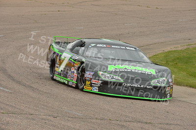 """20160514-408 - ARCA Midwest Tour """"Cabin Fever 100"""" at State Park Speedway - Wausau, WI"""