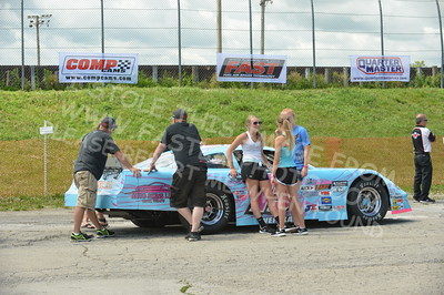 """20160715-004 - ARCA Midwest Tour """"Wayne Carter Classic 100 presented by Rod Baker Ford and Illinois Truck Equipment """" at Grundy County Speedway - Morris, IL7/15/2016"""