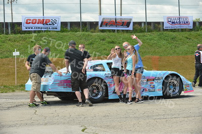 """20160715-003 - ARCA Midwest Tour """"Wayne Carter Classic 100 presented by Rod Baker Ford and Illinois Truck Equipment """" at Grundy County Speedway - Morris, IL7/15/2016"""