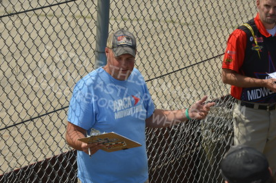 """20160715-034 - ARCA Midwest Tour """"Wayne Carter Classic 100 presented by Rod Baker Ford and Illinois Truck Equipment """" at Grundy County Speedway - Morris, IL7/15/2016"""