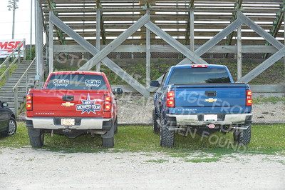 """20160715-010 - ARCA Midwest Tour """"Wayne Carter Classic 100 presented by Rod Baker Ford and Illinois Truck Equipment """" at Grundy County Speedway - Morris, IL7/15/2016"""