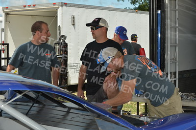 """20160715-014 - ARCA Midwest Tour """"Wayne Carter Classic 100 presented by Rod Baker Ford and Illinois Truck Equipment """" at Grundy County Speedway - Morris, IL7/15/2016"""