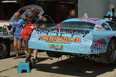 """20160715-027 - ARCA Midwest Tour """"Wayne Carter Classic 100 presented by Rod Baker Ford and Illinois Truck Equipment """" at Grundy County Speedway - Morris, IL7/15/2016"""