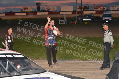 "20160715-499 - ARCA Midwest Tour ""Wayne Carter Classic 100 presented by Rod Baker Ford and Illinois Truck Equipment "" at Grundy County Speedway - Morris, IL7/15/2016"