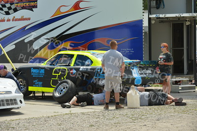 "20160715-001 - ARCA Midwest Tour ""Wayne Carter Classic 100 presented by Rod Baker Ford and Illinois Truck Equipment "" at Grundy County Speedway - Morris, IL7/15/2016"
