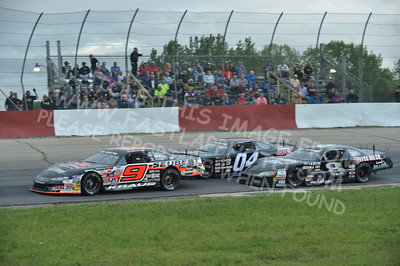 """20160715-434 - ARCA Midwest Tour """"Wayne Carter Classic 100 presented by Rod Baker Ford and Illinois Truck Equipment """" at Grundy County Speedway - Morris, IL7/15/2016"""
