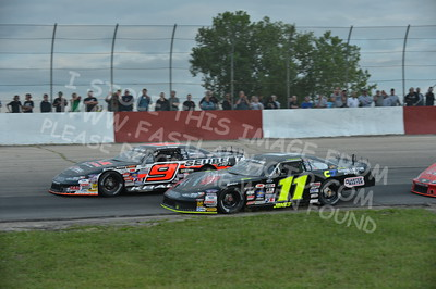 """20160715-441 - ARCA Midwest Tour """"Wayne Carter Classic 100 presented by Rod Baker Ford and Illinois Truck Equipment """" at Grundy County Speedway - Morris, IL7/15/2016"""