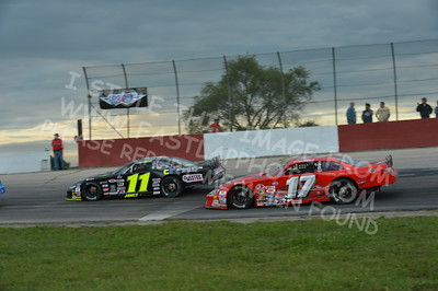 """20160715-437 - ARCA Midwest Tour """"Wayne Carter Classic 100 presented by Rod Baker Ford and Illinois Truck Equipment """" at Grundy County Speedway - Morris, IL7/15/2016"""