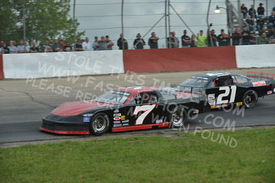 """20160715-424 - ARCA Midwest Tour """"Wayne Carter Classic 100 presented by Rod Baker Ford and Illinois Truck Equipment """" at Grundy County Speedway - Morris, IL7/15/2016"""
