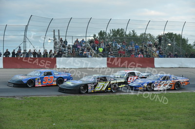 """20160715-444 - ARCA Midwest Tour """"Wayne Carter Classic 100 presented by Rod Baker Ford and Illinois Truck Equipment """" at Grundy County Speedway - Morris, IL7/15/2016"""